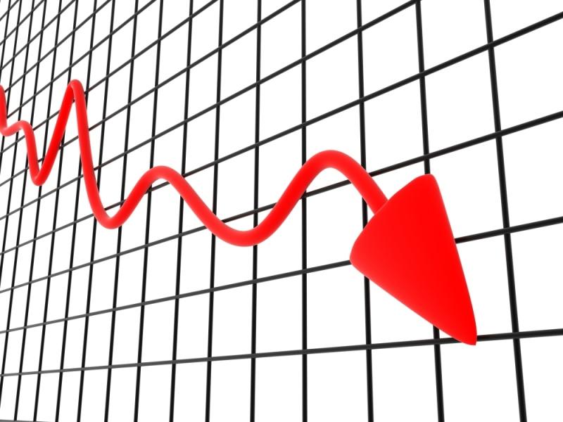 PIB em queda