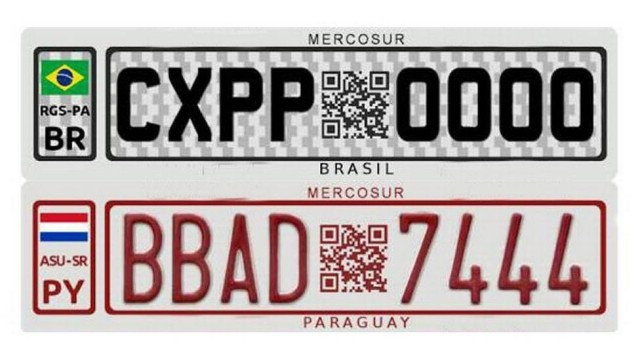 Placas de carros unificadas