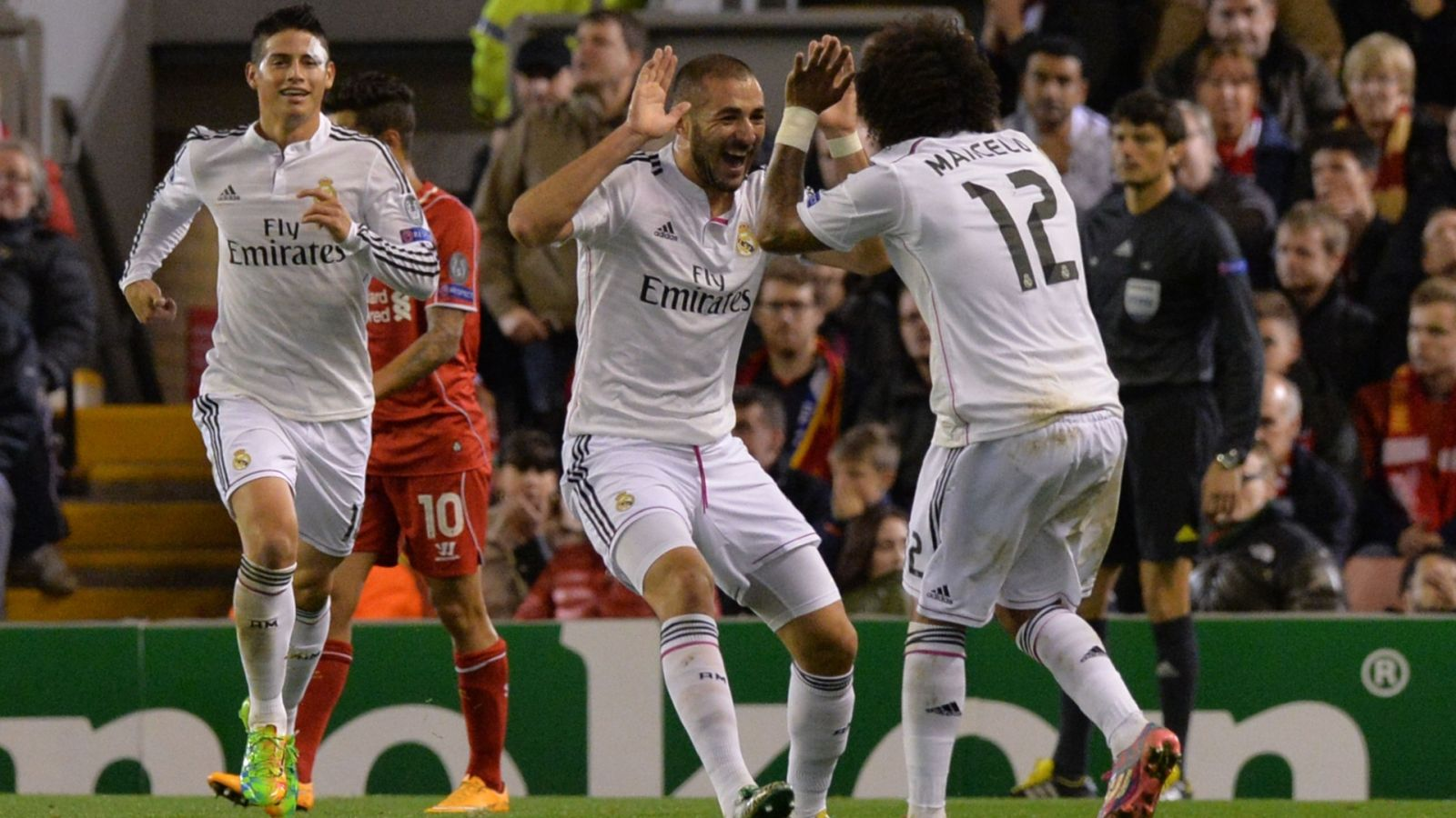 Jogo Real Madrid x Liverpool