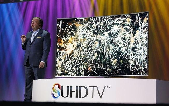 Samsung UHDTV de 88 polegadas
