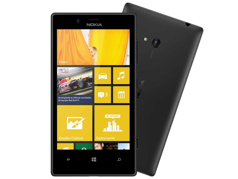 smartphone 3g nokia lumia 720 windows phone 8camera 6 7mp frontal hd 1 3mp tela 4 3 wi fi gps 086723800 Nokia Lumia 720 recebe Nova Atualização