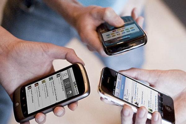 Internet pelo smartphone