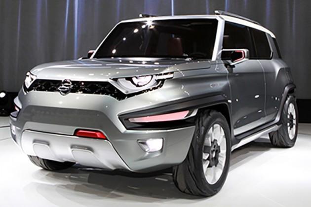 SsangYong XAV concept