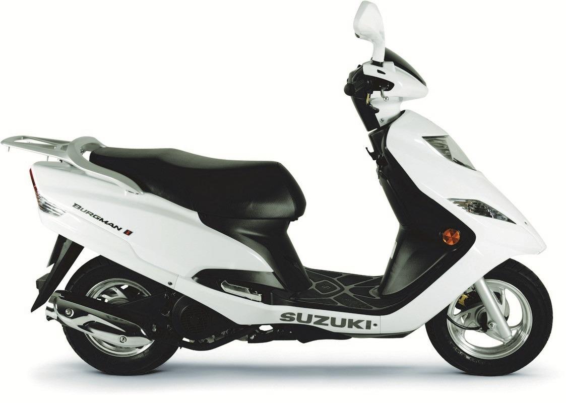 Suzuki Burgman 125 2018