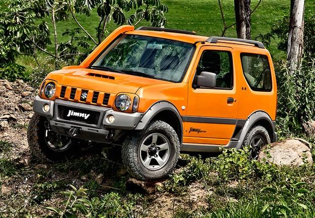 Suzuki Jimny nova gera??o