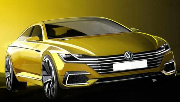 Teaser do Volkswagen CC Concept