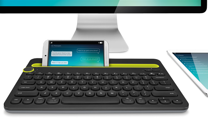 Teclado K480 Bluetooth Multi-Device