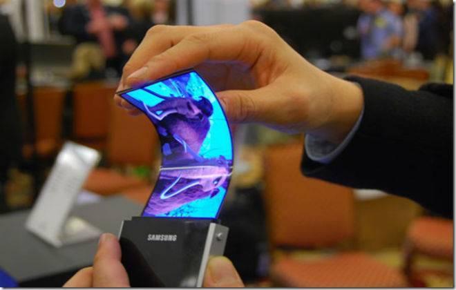 Telas dobr?veis da Samsung
