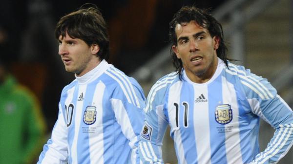 Tevez e Messi foram convocados para amistosos