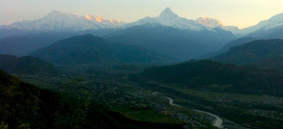 Trilhas no Nepal