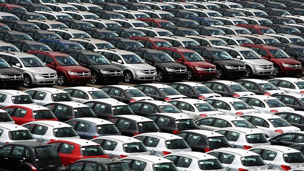 Vendas de carros novos