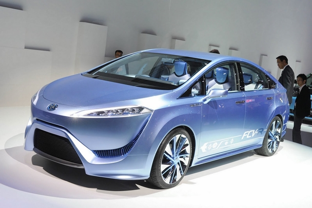 Toyota FCV movido à célula