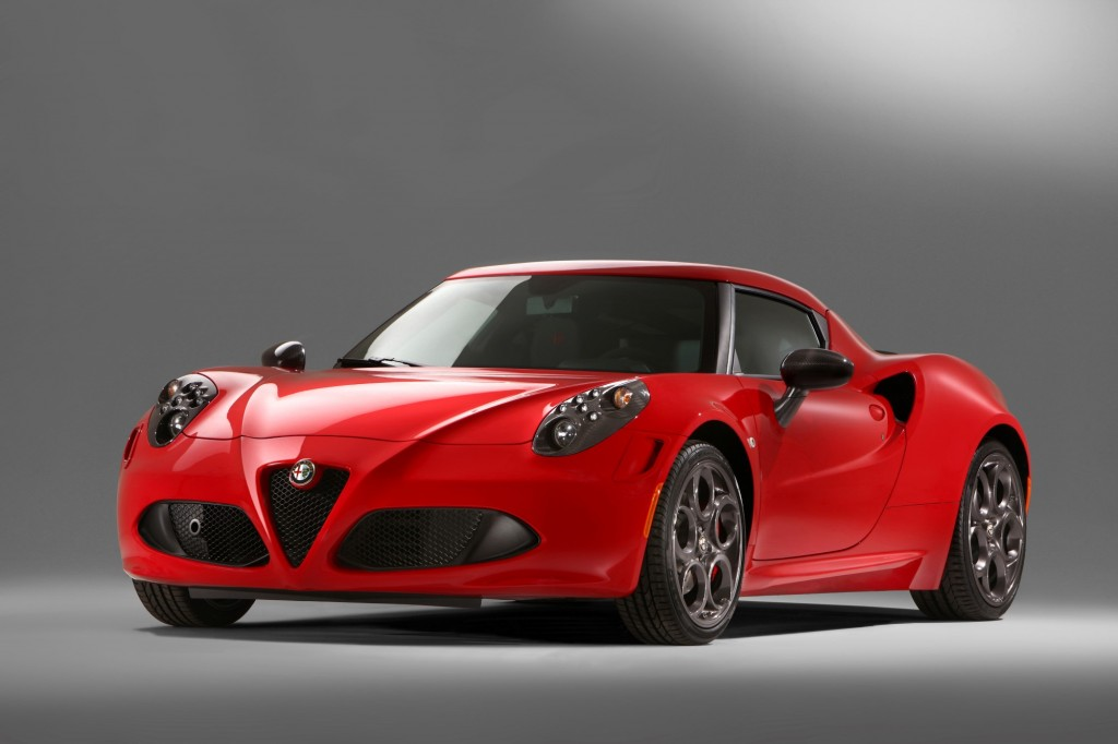Novo Alfa Romeo 4C
