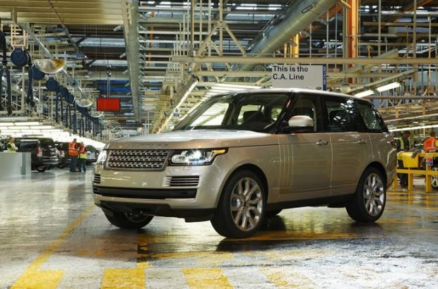 Land Rover Fábrica em Itatiaia