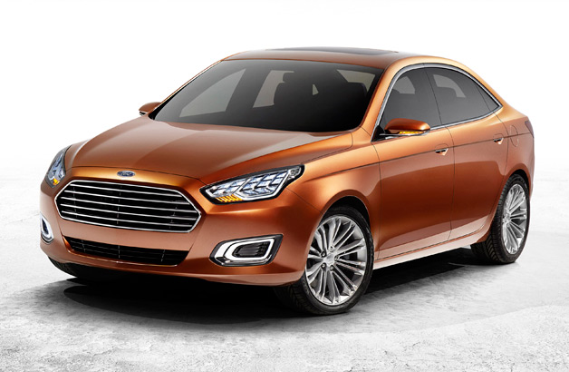 Ford New Escort Concept