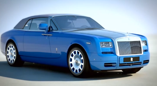 Rolls-Royce Phantom Waterspeed Collection