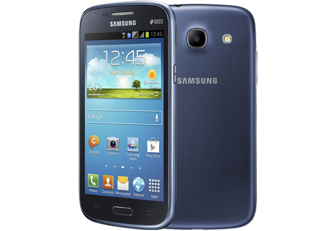 Samsung Galaxy Core com 2 chips
