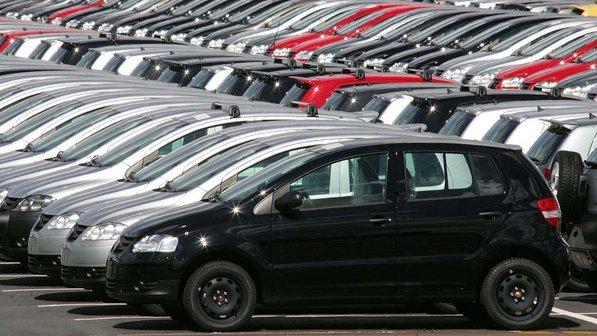 Venda de carros em  2014