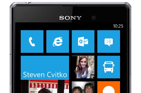 Windows Phone em smartphones da Sony