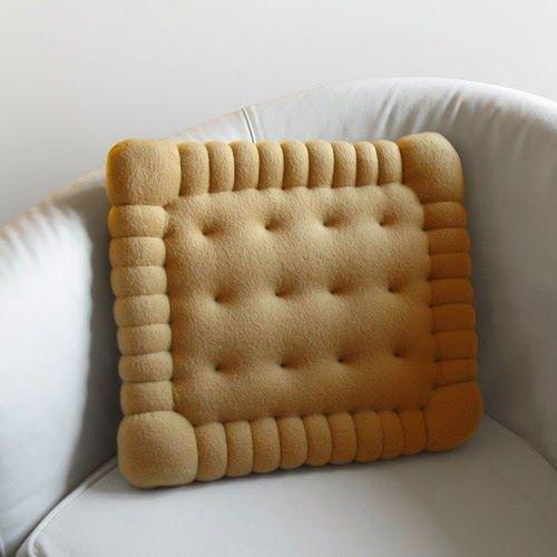 Almofada de biscoito