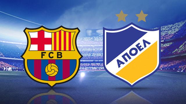 Barcelona x Apoel