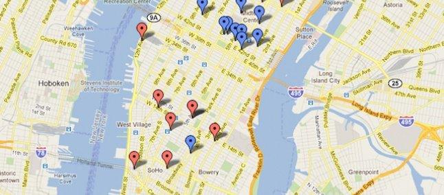 Atualização do Google Maps