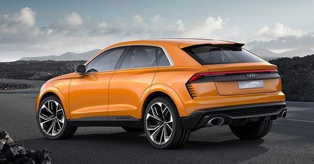 Audi Q8 release