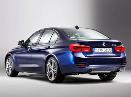 BMW Série 3 reestilizado