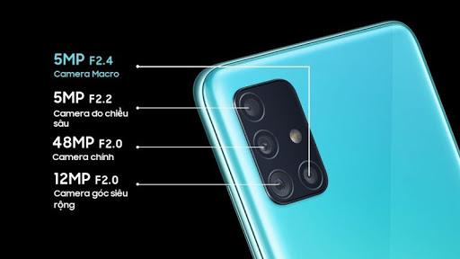 Câmera Galaxy A51