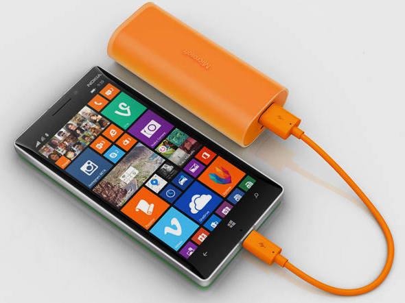 Carregador portátil da Microsoft