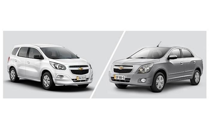 Chevrolet Cobalt e Spin