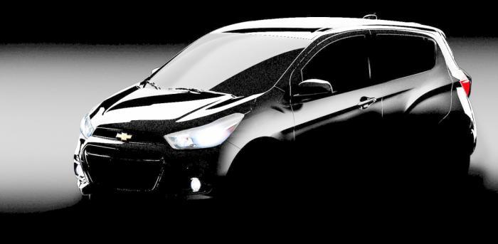 Teaser do Chevrolet Spark