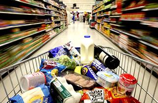 Consumo nos supermercados