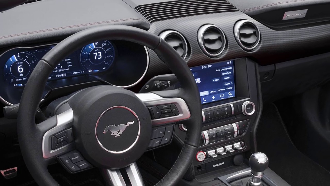 Ford Mustang 2018 interior