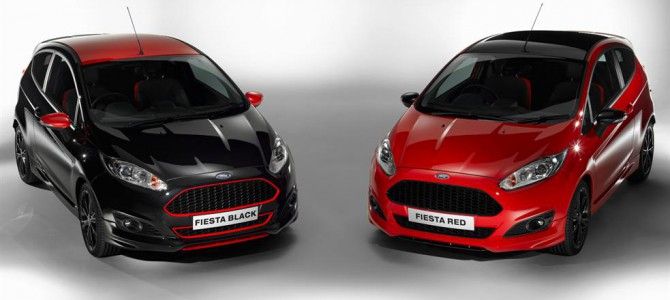 Ford New Fiesta Red & Black