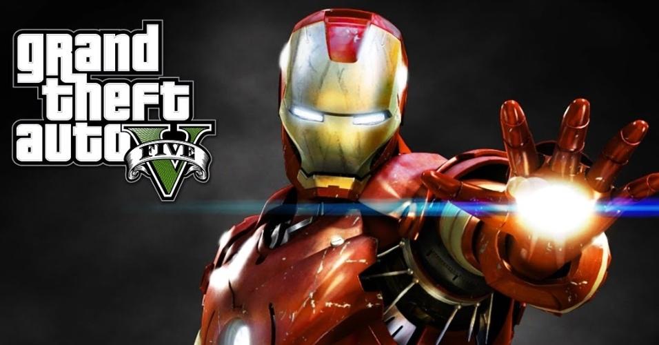 Homem de Ferro no GTA 5