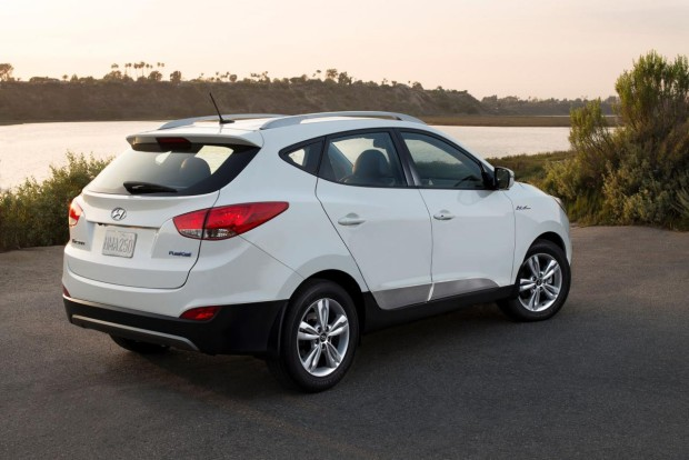 Hyundai Tucson Fuel Cell 2016