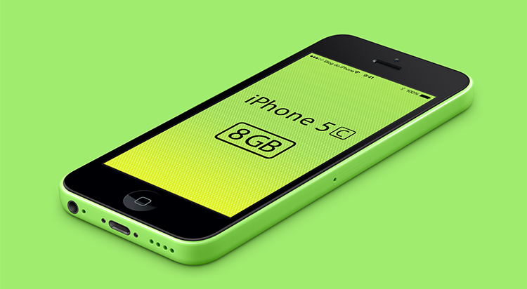 iPhone 5C de 8GB