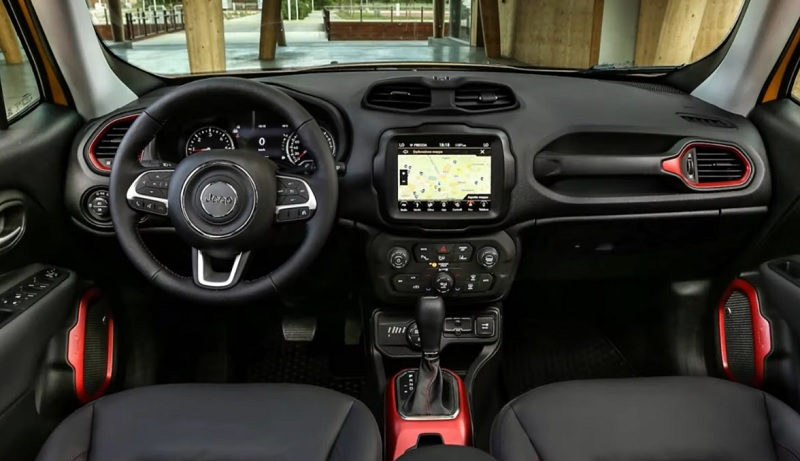 Jeep Renegade 2021 painel