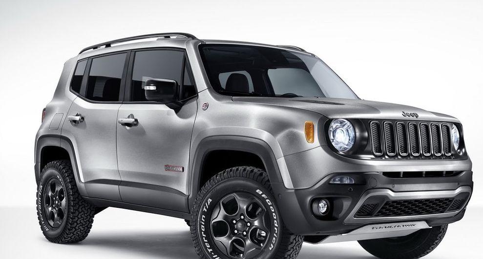 Jeep Renegade com trailer