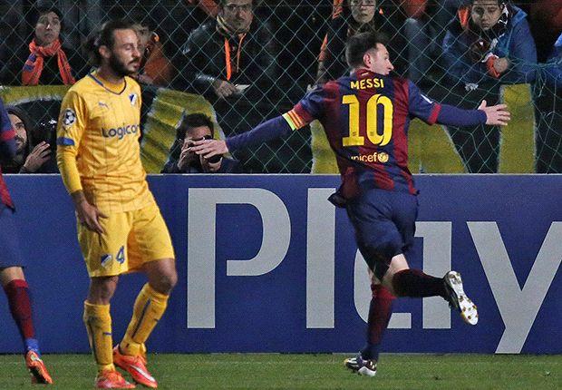 Jogo Apoel x Barcelona