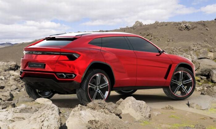 SUV de luxo da Lamborghini
