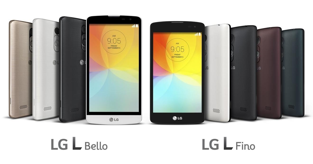 LG L Bello e LG L Fino