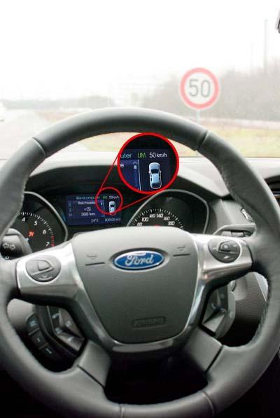 Limitador de velocidade da Ford