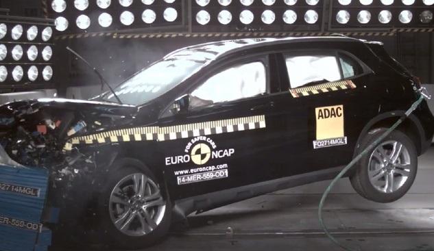 Mercedes-Benz GLA - Teste no Euro NCAP