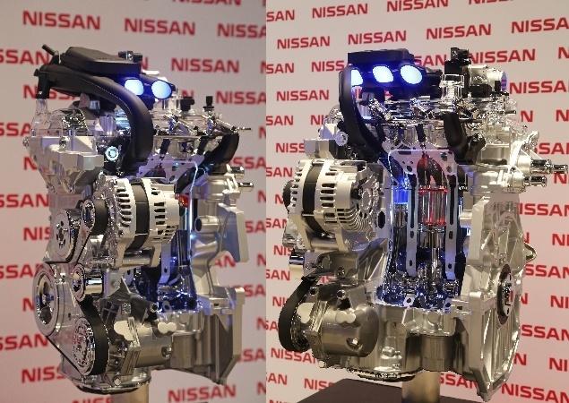 Novo motor da Nissan