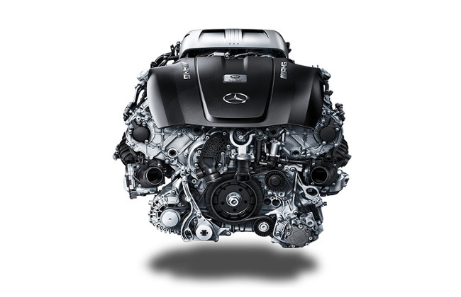 Novo motor V8 da Mercedes-Benz