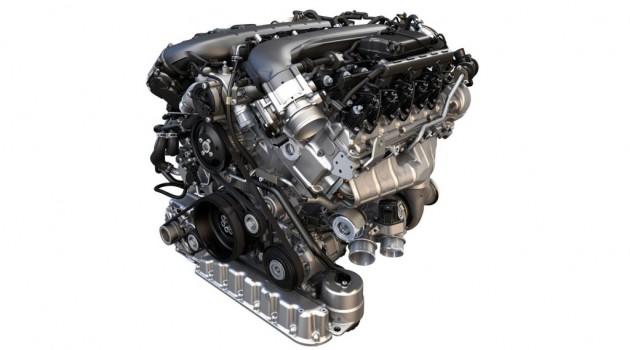Motor W12 6.0 TSI