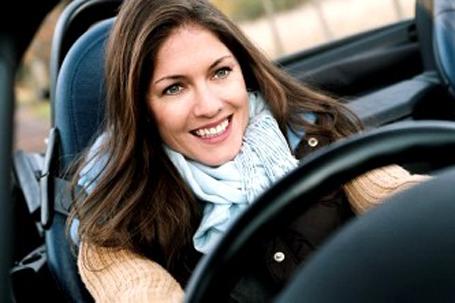 Mulheres no volante