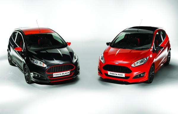 New Fiesta Black Edition e Red Edition